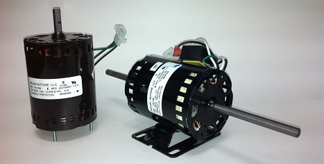 Electric motors replacing parts